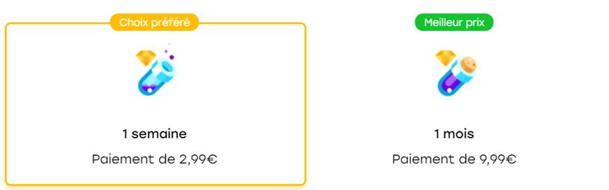 tarifs pack abonnement super pouvoir avec option paiement internetplus badoo