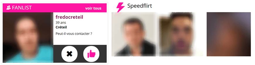 screenshot module-fanlist speedflirt erotilink