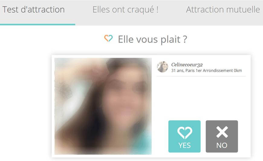 screenshot module test attraction idilys