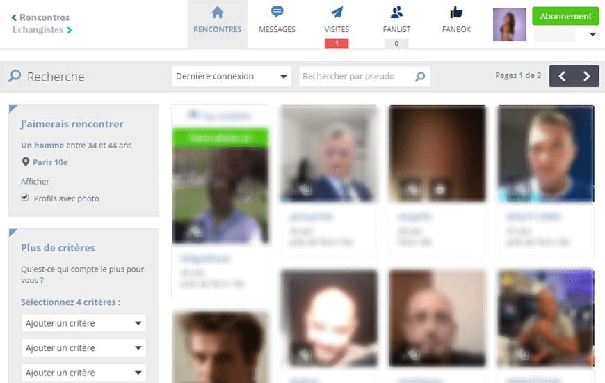 interface membres recontre echangistes-fr